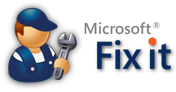 Microsoft Fix it Solution Center
