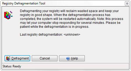 windows defrag manager